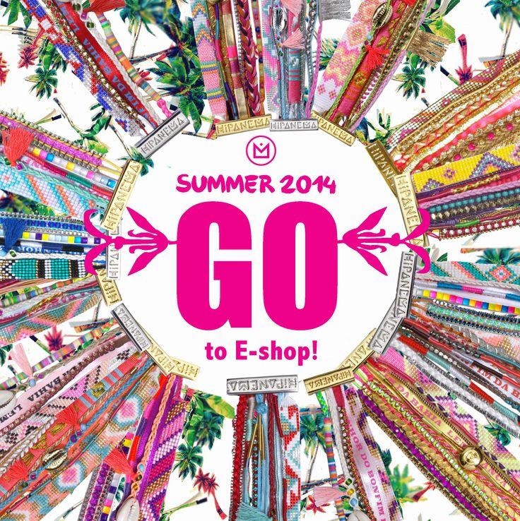 La collection été 2014 est en vente sur le E-shop !!! http://www.hipanema.com
