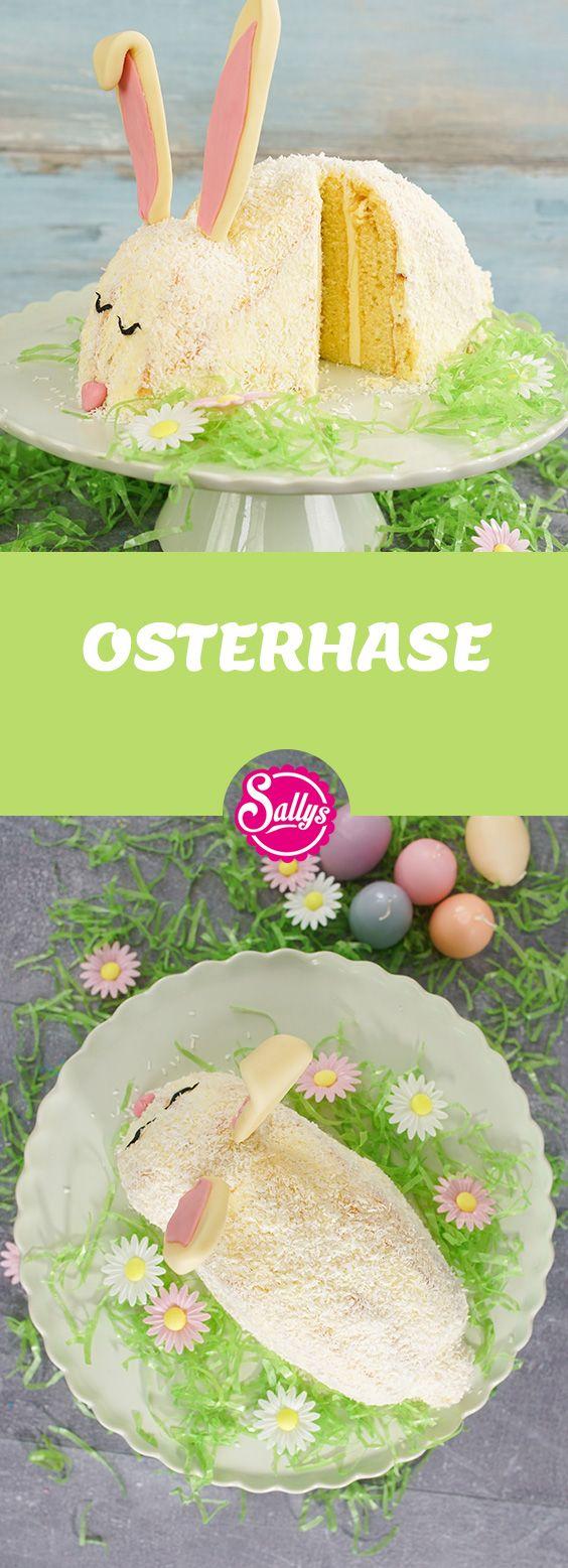Passend zu Ostern eine süße Osterhasentorte.