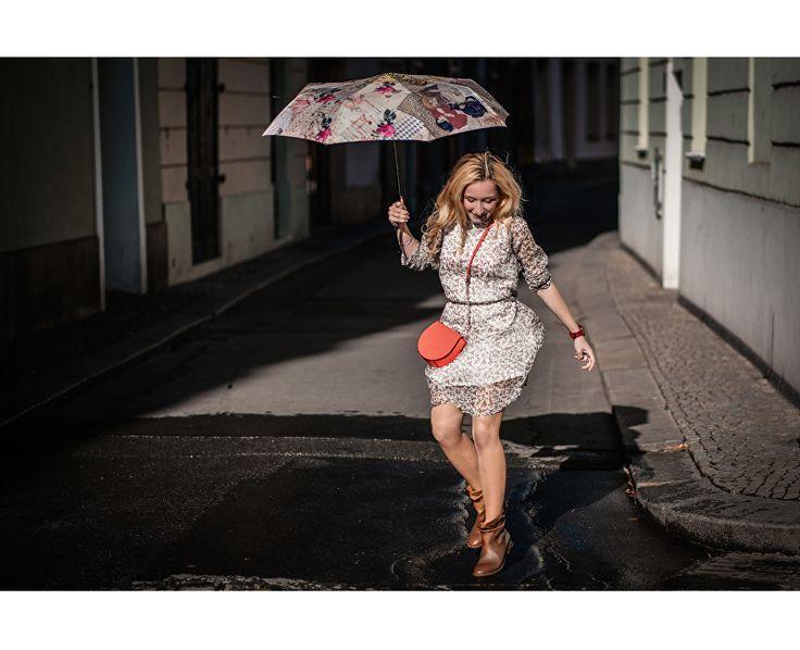 Doppler Dámský skládací mechanický deštník Modern Art Mini Vintage 7085706 | Vivantis.cz - Být sám sebou