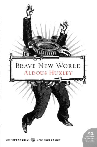 Brave New World by Aldous Huxley: Masterful work of satire and philosophy, as well as hard hitting predictions that are oh-so close to the belt. It becomes more and more relevant every day.