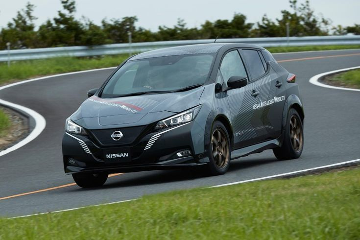 Nissan: a Leaf e + 4 wheel drive of 304 hp in test