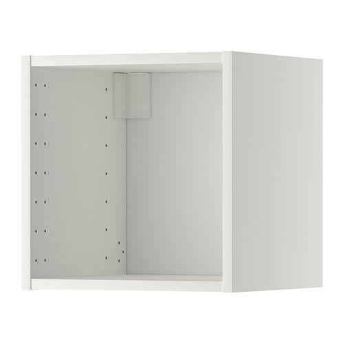 METOD Veggskapstamme - hvit, 40x37x40 cm - IKEA 2 stk, med hvit dør