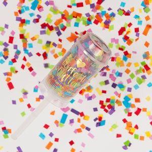 Rainbow Bright Confetti Flutter