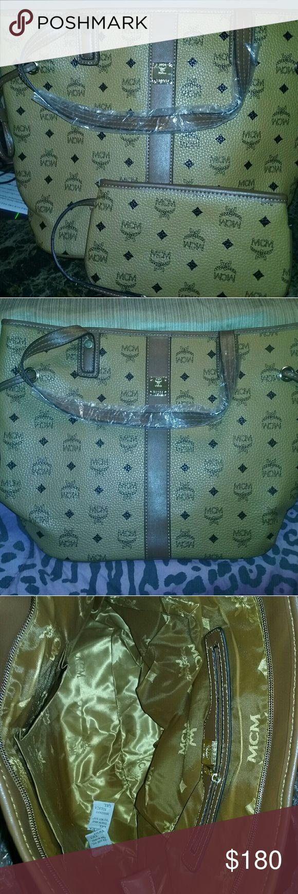 Mcm handbag Brown handbag MCM Bags
