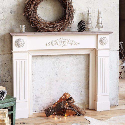 Cornice camino, in legno, beige/bianco antico PureDay http://www.amazon.it/dp/B00FDV99SA/ref=cm_sw_r_pi_dp_r.Glxb1H0CZ7G