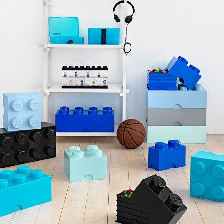 Sm. LEGO Storage Brick by LEGO for Room Copenhagen designed in Denmark #MONOQI