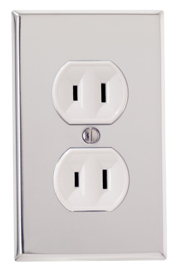 How To Change A 2 Prong Electrical Outlet To A 3 Prong Hunker Electrical Outlets Wall Outlets Installing Electrical Outlet