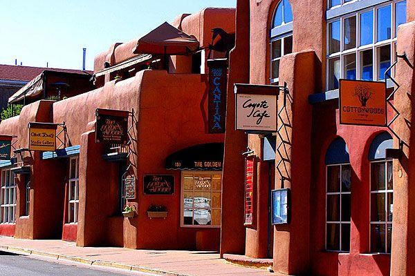 Santa Fe, NM in New Mexico.  Escape from Albuquerque during days off in FUTA, 2006.