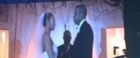 Here's Beyonce & Jay Z's Secret Wedding Video