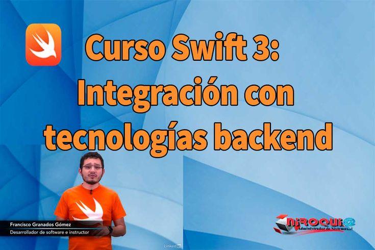 Descargar Curso Swift 3: Integración con tecnologías backend [MEGA]