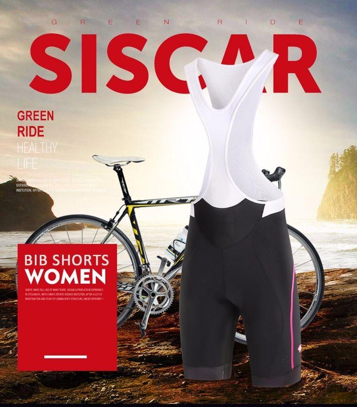 46.20$  Watch now - http://alis68.shopchina.info/1/go.php?t=32797328217 - Santic Women Cycling Bib Shorts 4D Cycling Pro-Fit White-Black  M-2XL L6C05068 46.20$ #buymethat