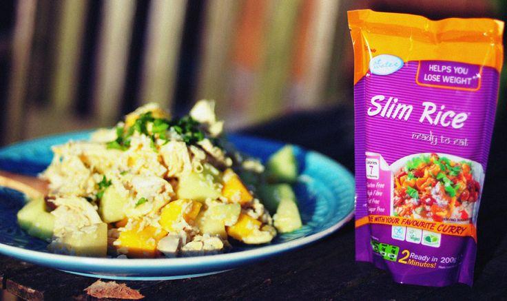Glutenvrije Slim Rijstsalade