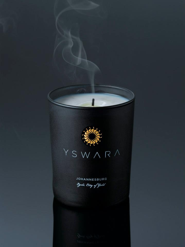 YSWARA Soy Massage Candle - Collection JOHARI LA AFRICA — in Cape Town, Western Cape.