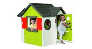 Smoby 310228 - Kinderhaus zum Spielen für den Garten › www.kinderspielhaus-stelzenhaus.com