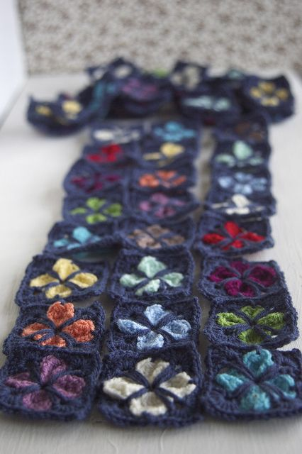 cathedral motif - crochet