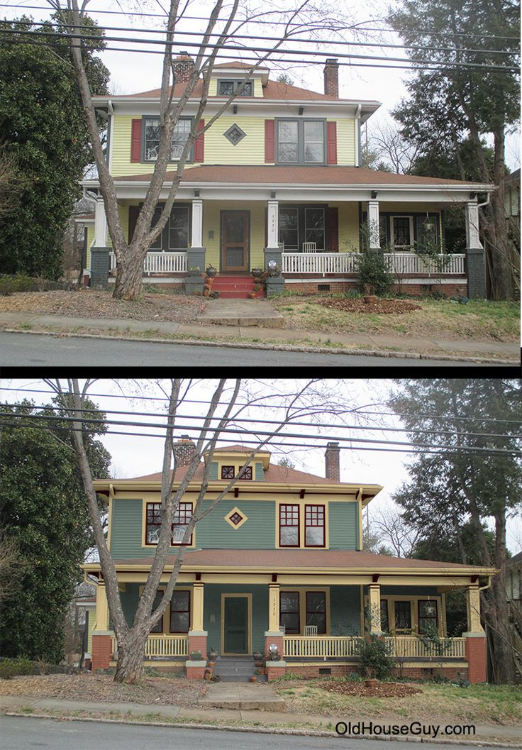 180 Best Images About Old House Restorations Historic Paint Colors Home Makeovers Before And
