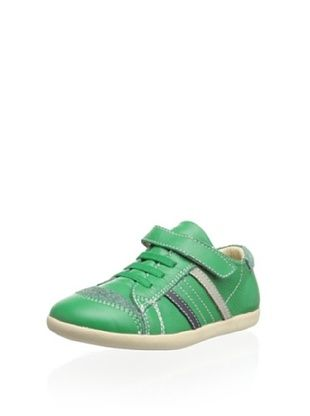 45% OFF Old Soles Kid's Denzle Sneaker (Bright Green/Elephant Grey/Navy)