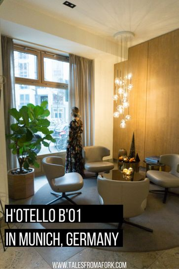 H'Otello B'01 in Munich is a contemporary hotel in a convenient location, which makes it great for urban explorers and anyone who loves design hotels!