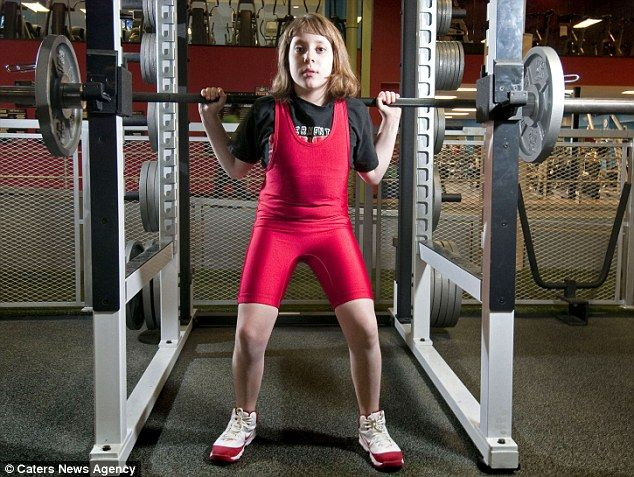 This little girl just broke the world weightlifting record- lifting over two times her own body weight. She's 10. We all better step our game up.