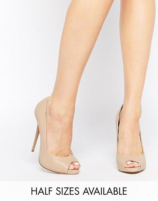 ASOS   Туфли на высоком каблуке с открытым носком ASOS PENZANCE