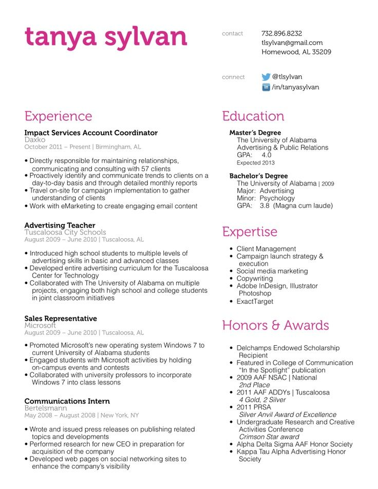 Best 25+ Basic resume examples ideas on Pinterest Employment - work history resume example