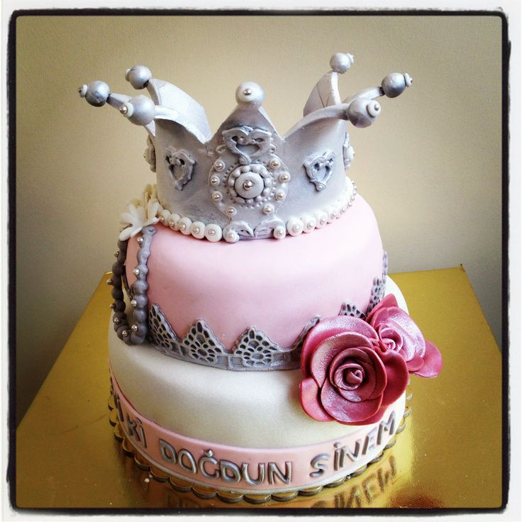 Birthday Cakes, Pasta And Queen Crown On Pinterest