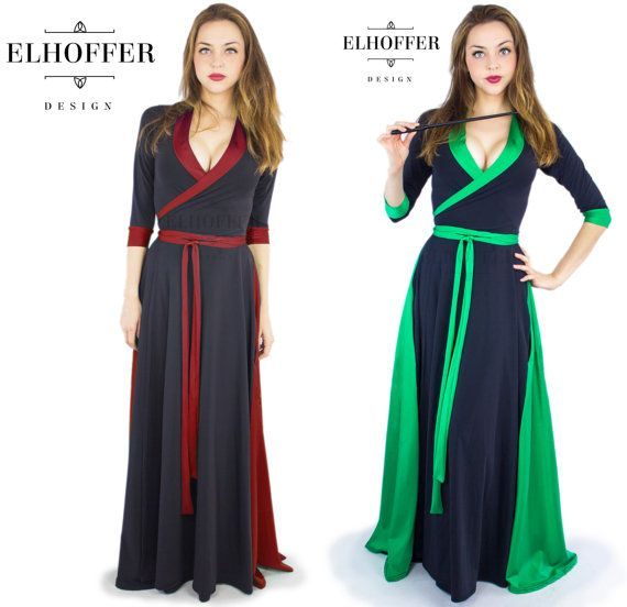 Harry Potter-Inspired Wrap Dresses And Capes With Wand Pockets
