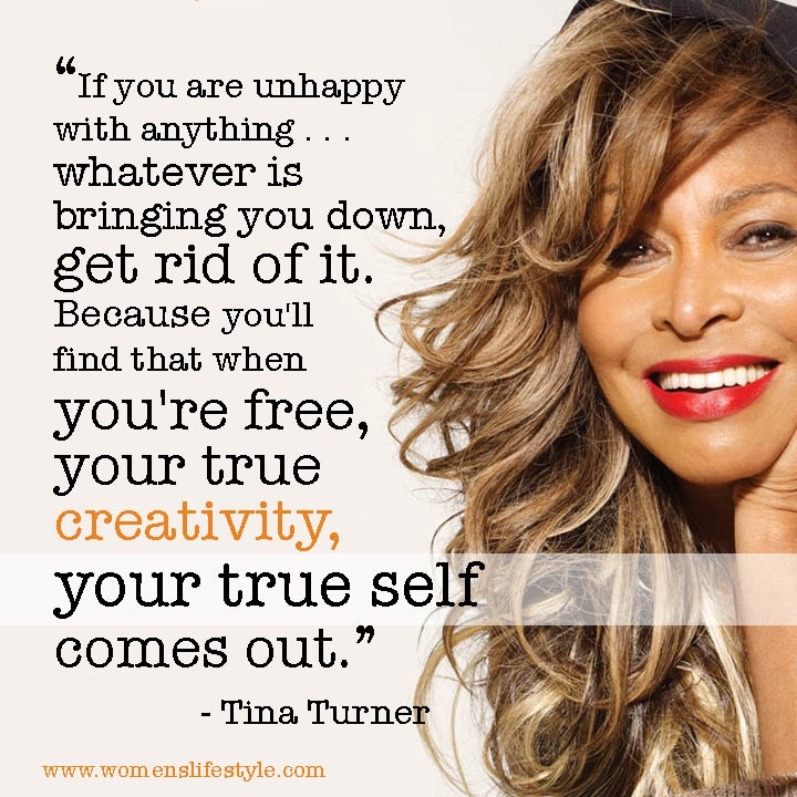 "Tina Turner asked the quintessential question: ""What's love got to do with it?"" In the end, not enough. An extremely courageous woman, her talent has far eclipsed who and what she left behind. What an incredibly 'true self'."