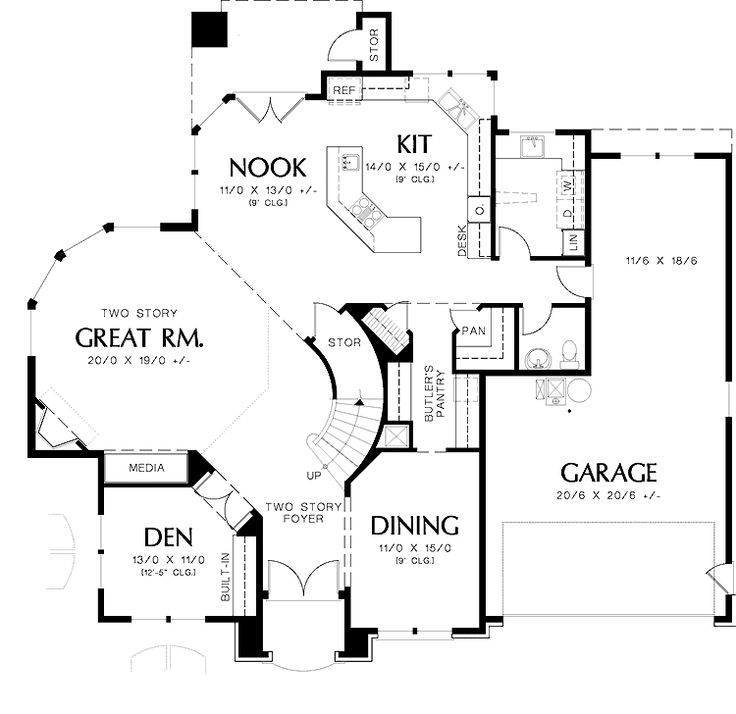 E Unlimited Home Design: Actually My Dream Home Plan! Given Unlimited Funds It's