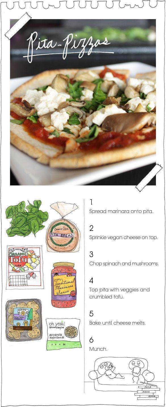easy&delicious. added feta so it wasn't vegan. but love this website! veganstoner.com
