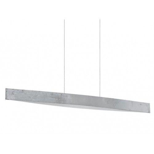 Eglo 93339 Fornes LED Silver & White Pendant Ceiling Light (Eglo Lighting 93339) - discounthomelighting