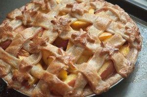 Nectarine Pie   The Tasty Gardener