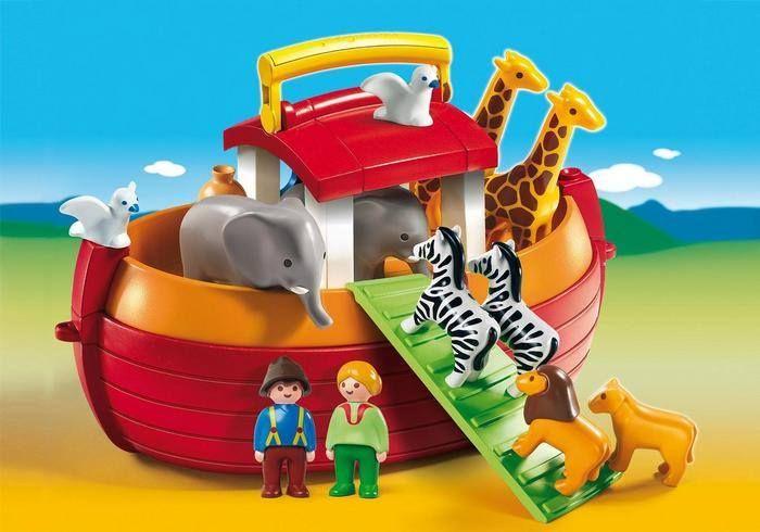 Kender I Playmobils 123 serie til de små børn?  Playmobil har lavet denne fantastiske serie til små børn fra ca. 1,5 år. Serie hedder PLAYMOBIL 123, er CE-mærket og indeholder ingen phtalater. Alle 123 produkterne har runde former og klare farver og er lavet specielt til babyer og små børn uden mindre dele, som børnene kan sluge. En virkelig skøn serie til de små børn.  Se hele serien her: http://www.playmobilbutikken.dk/shop/playmobil-123-serien-50c1.html #clknetwork #toyz24 #toys…