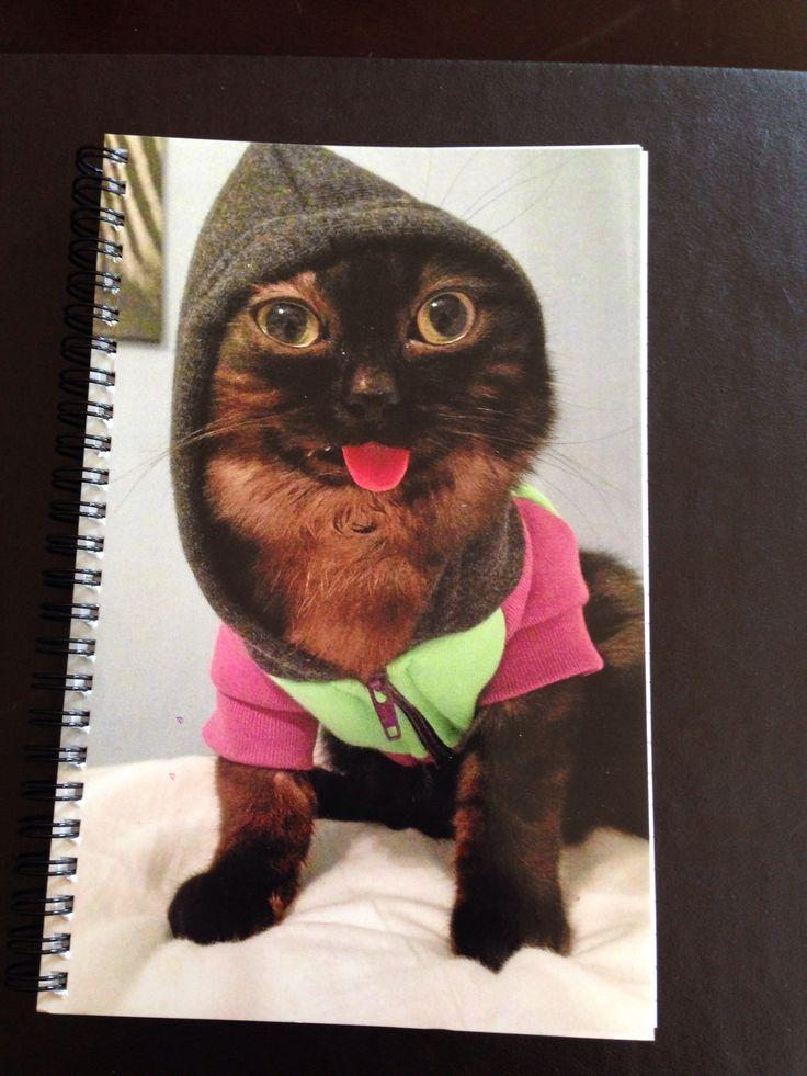 Mr. Magoo the cat note pad! $15