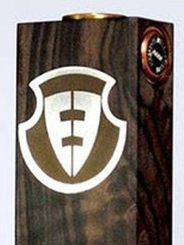 Authentic Fire Pipes Fully Mechanical Wood Box Mod///-Kamagong Wood with Stainless Embossed Logo  -BOTTOM inserted batteries  -NO WIRE connections  -FULL MECH Parallel dual 18650  -MAGNETIC Firing switch ( CNC customized)  -SCREW type negative pins.  -Threaded pin 510 connector  -CNC made  -All copper contacts  -Threaded battery contact .  -Dim: 25mm x 49mm x 95.5mm