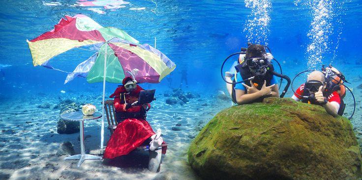 Umbul Ponggok, Snorkelling Air Tawar ala Klaten - http://efekgila.com/umbul-ponggok-snorkelling-air-tawar-ala-klaten/