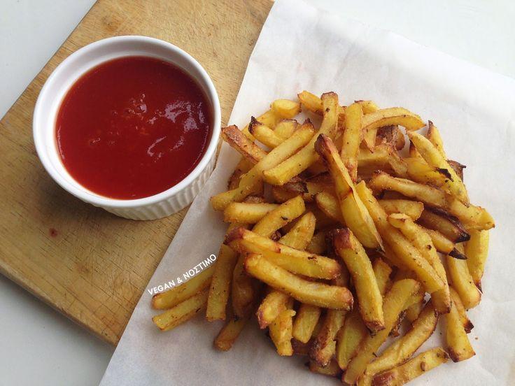 Πατάτες Τηγανιτές χωρίς Λάδι | Vegan & Νόστιμο