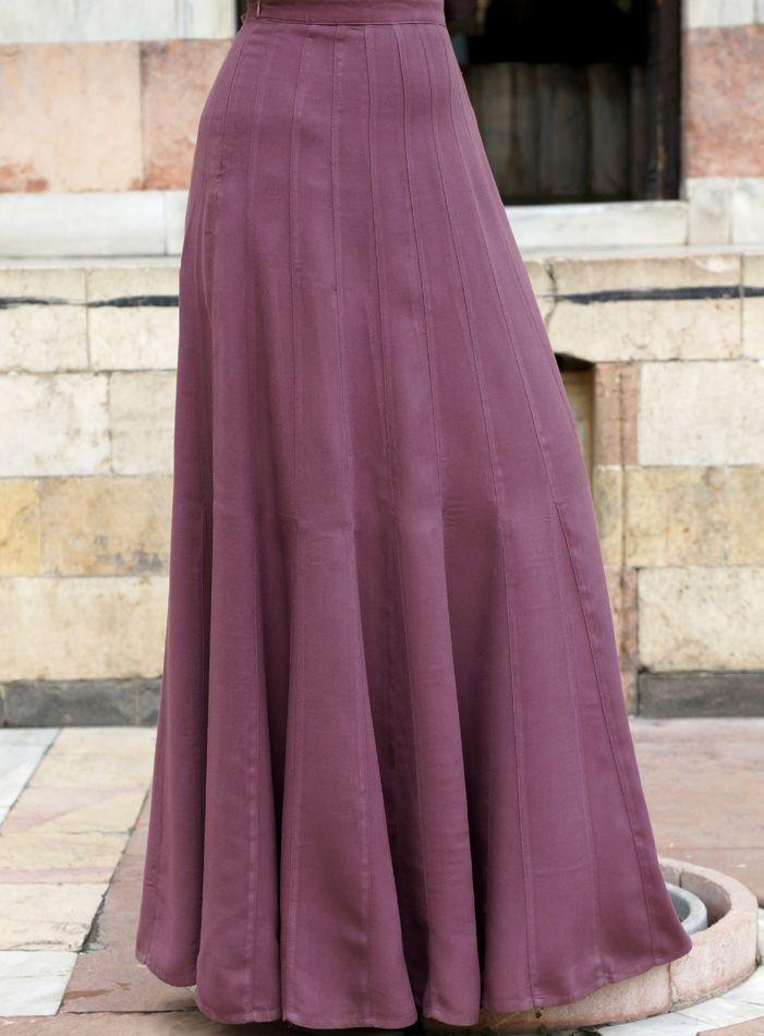 SHUKR USA | 24-Gore Godet Skirt