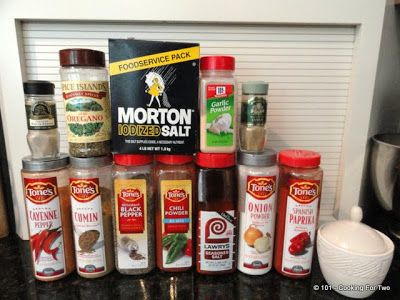 101 Cooking For Two - Everyday Recipes for Two: Marlowe's of Memphis BBQ Dry Rub