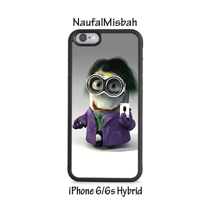 Joker Despicable Me Minion iPhone 6/6s HYBRID Case Cover