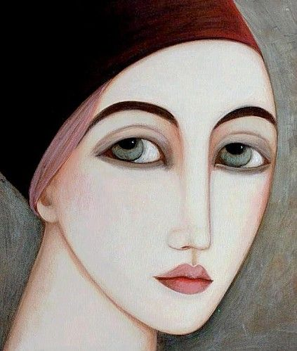 That almond shaped eye. (Faiza Maghni)
