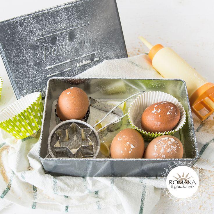 A casa vi divertite a sperimentare sempre nuove ricette? La scatola dei Pasticcini di Gelateria La Romana può diventare un elegante porta-attrezzi per futuri Cake designer!