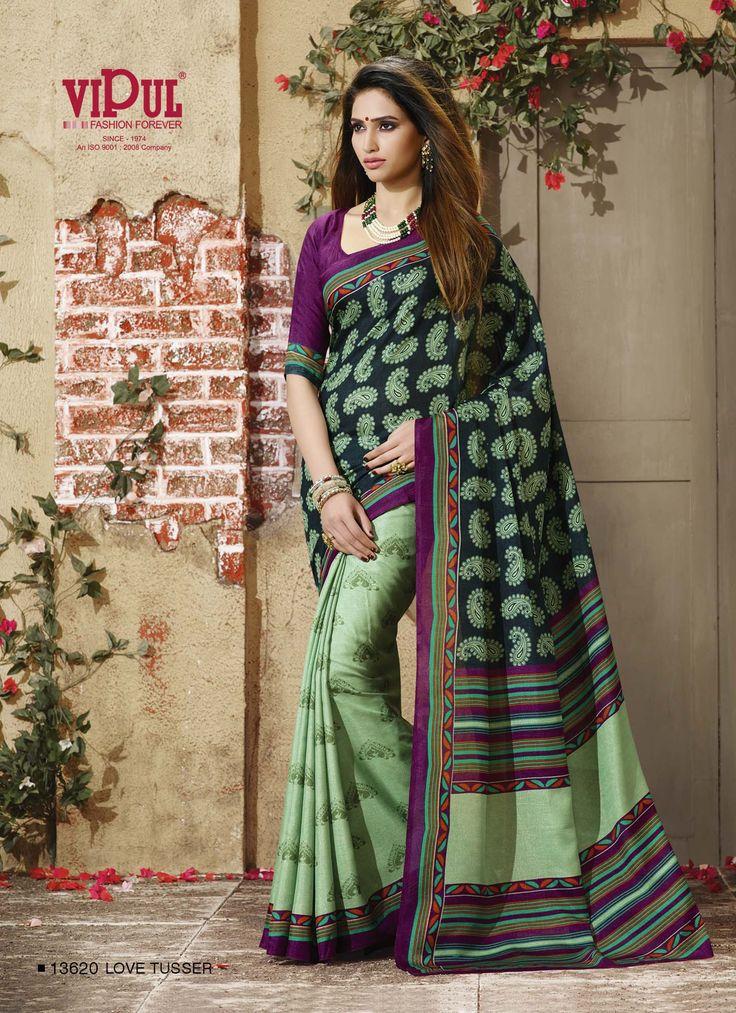 #VipulFashions #FashionForever #saree #sari #fashion #Silk #Tussar #Magnet #catalog