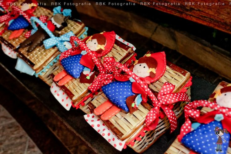 : Festa Chapeuzinho Vermelho!!!