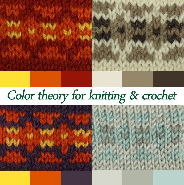 Knitting Color Wheel : Color theory basics for knitting and crocheting crochet