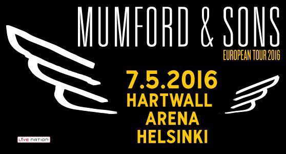 Mumford & Sons ensi kertaa Suomeen keväällä! Yleisöt ympäri maailmaa puolelleen voittanut, bluegrass-vaikutteita maalailevaan rockiin yhdistelevä brittiyhtye esiintyy Helsingissä Hartwall Arenalla lauantaina 7. toukokuuta. Lipunmyynti konserttiin käynnistyy perjantaina 6. marraskuuta lippu.fissä.