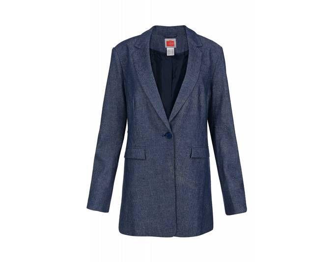 Travel Couture by heine Jacke Damen Klassischer Einknopf-Blazer Blazer Blau [Größenauswahl: 38] Jetzt bestellen unter: https://mode.ladendirekt.de/damen/bekleidung/blazer/sonstige-blazer/?uid=2fee140e-39d7-54cb-9ea4-af6de02828d6&utm_source=pinterest&utm_medium=pin&utm_campaign=boards #sonstigeblazer #blazer #bekleidung