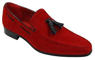 Mens Suede Loafers Driving Shoes Slip On Tassle Design Leather Smart Casual: : Shoes… - http://sorihe.com/mensshoes/2018/02/13/mens-suede-loafers-driving-shoes-slip-on-tassle-design-leather-smart-casual-shoes/ #MensFashionSmart