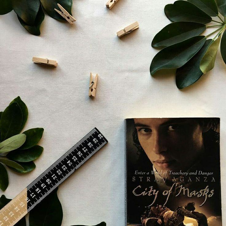 City of Masks  Bookstagram @pagesandleaves