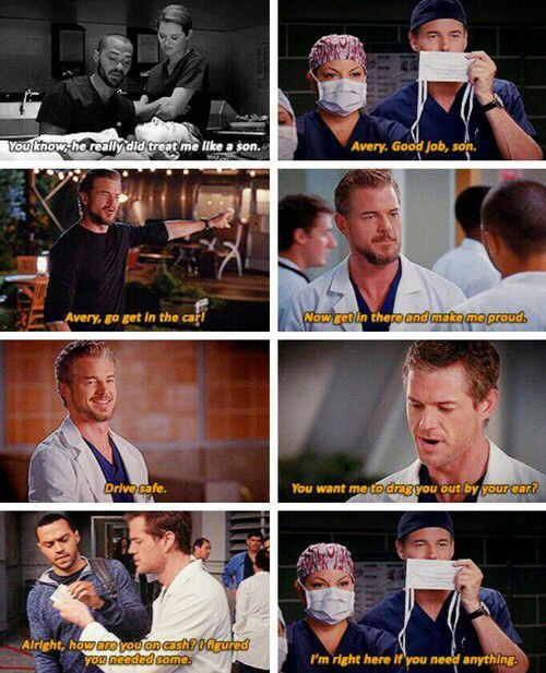 Sloan and Avery like father and son. Why did they have to kill Sloan off? He was my favorite character!